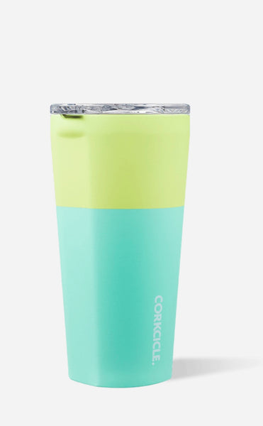 Corkcicle stemless insulated tumbler - Limeade 16 oz