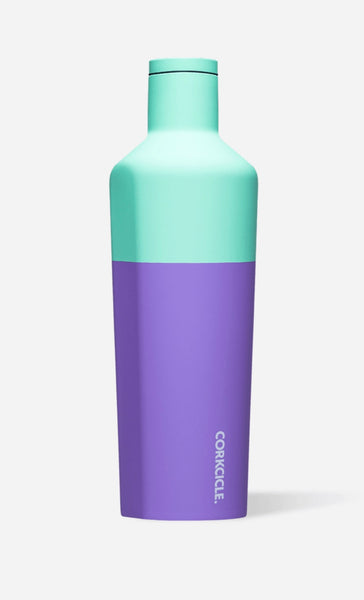 Corkcicle stemless insulated canteen - Mint Berry 16 oz