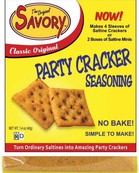 The Original Savory Party Cracker Seasoning - Classic Original