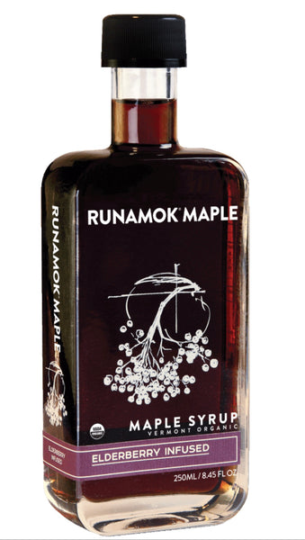 Runamok Maple Elderberry Infused Maple Syrup - 8.45 oz