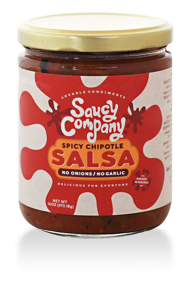 Saucy Company Spicy Chipotle Salsa