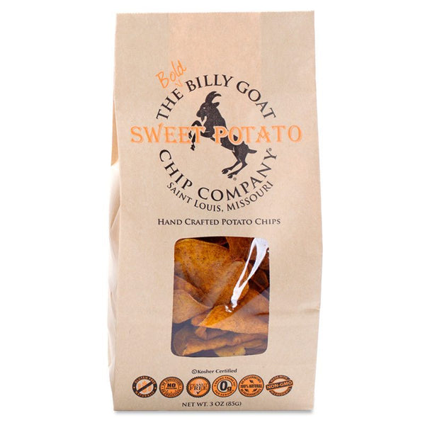 Billy Goat Chip Co. Potato Chips - Sweet Potato
