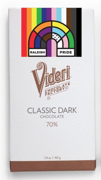 Videri Classic Dark Chocolate Bar - Raleigh Pride