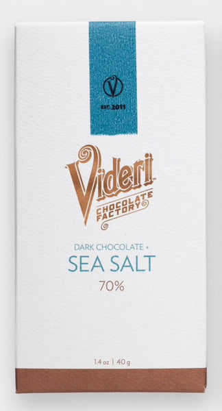 Videri Dark Chocolate Sea Salt Bar