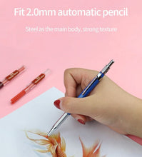Load image into Gallery viewer, Colour Pencil Leads 8 AND Mechanical Colour Pencil COMBO