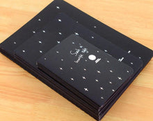 Load image into Gallery viewer, Black Paper Notebook/Sketch Book - 27 stitched pages