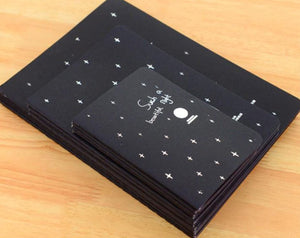 Black Paper Notebook/Sketch Book - 27 stitched pages