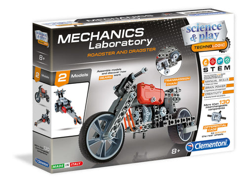 Mechanics Lab -  Roadster and Dragster- Science & Play - STEM