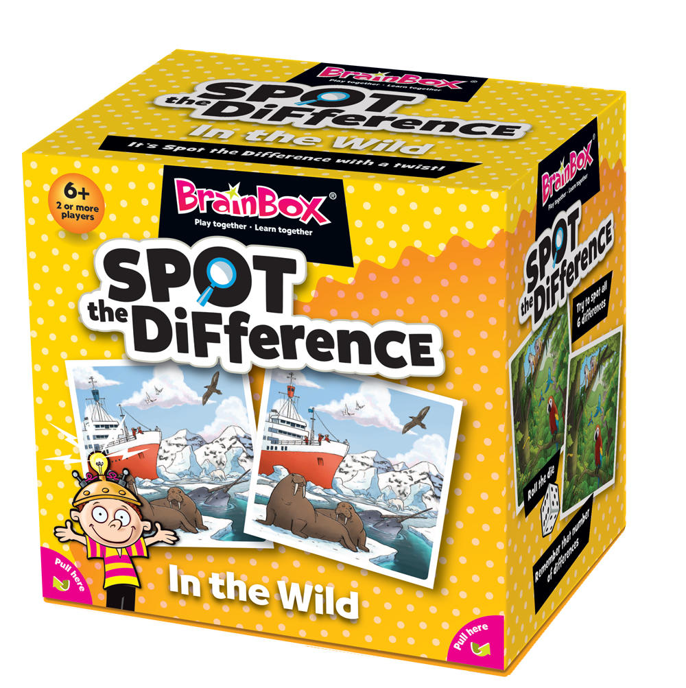 BrainBox - Spot the Difference (48 Cards)