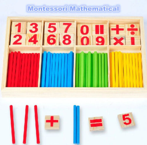 Wooden Learning Math Box