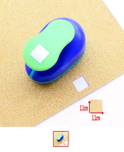 Square Hole Punch 11 x 11mm - Craft