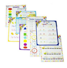 Load image into Gallery viewer, Colourful Dry Erase Pockets A4 size - Reusable
