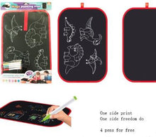 Load image into Gallery viewer, Dinosaur Portable Magic Drawing Board/Mat