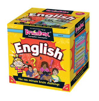 BrainBox - English Card Game (55 Cards)
