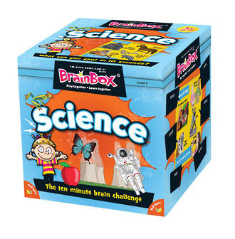 BrainBox - Science Card Game (55 Cards)