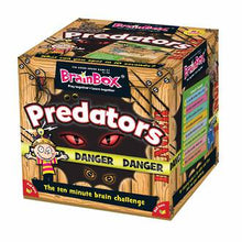 Load image into Gallery viewer, BrainBox - Predators Card Game (55 Cards)