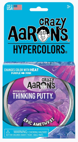 CRAZY AARON'S PUTTY - Hypercolour Epic Amethyst, 10cm