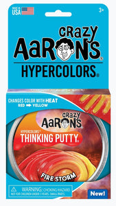 CRAZY AARON'S PUTTY - Hypercolour Fire Storm, 10cm