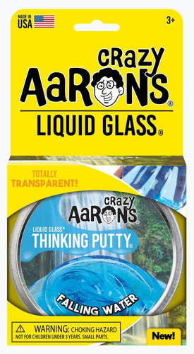 CRAZY AARON'S PUTTY - Liquid Glass Falling Water, 10cm