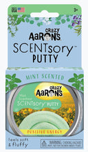 Load image into Gallery viewer, Aromatherapy Scented Putty - Positive Energy (Mint) 6.35cm Tin