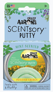 Aromatherapy Scented Putty - Positive Energy (Mint) 6.35cm Tin