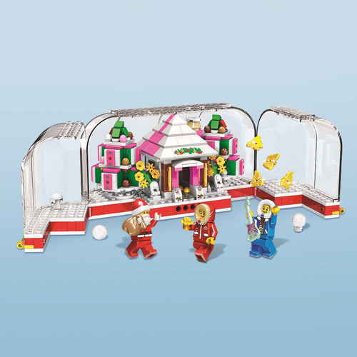 Christmas Santa Village Bricks/Blocks Set 452pcs - Build Your Own Xmas
