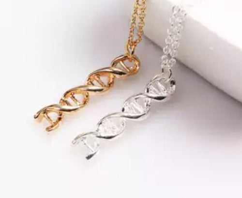DNA Chemical Structure Molecule Necklaces
