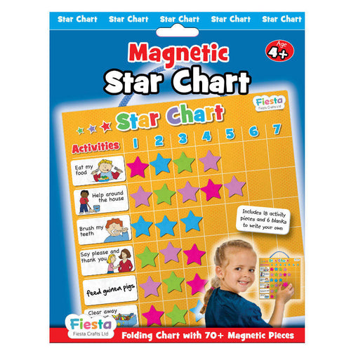 Magnetic Reward Star Chart - Fiesta Crafts