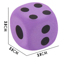 Load image into Gallery viewer, Dice EVA Foam - Math Toys Speciality