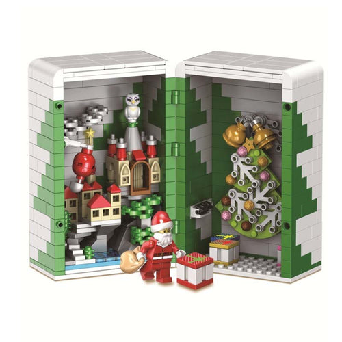 Christmas Tree Gift Box Bricks/Blocks Set 452pcs -  Build your own joy!