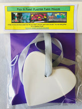 Load image into Gallery viewer, Pick N Paint Plaster Paris Moulds  - HEART (Handmade in NZ)