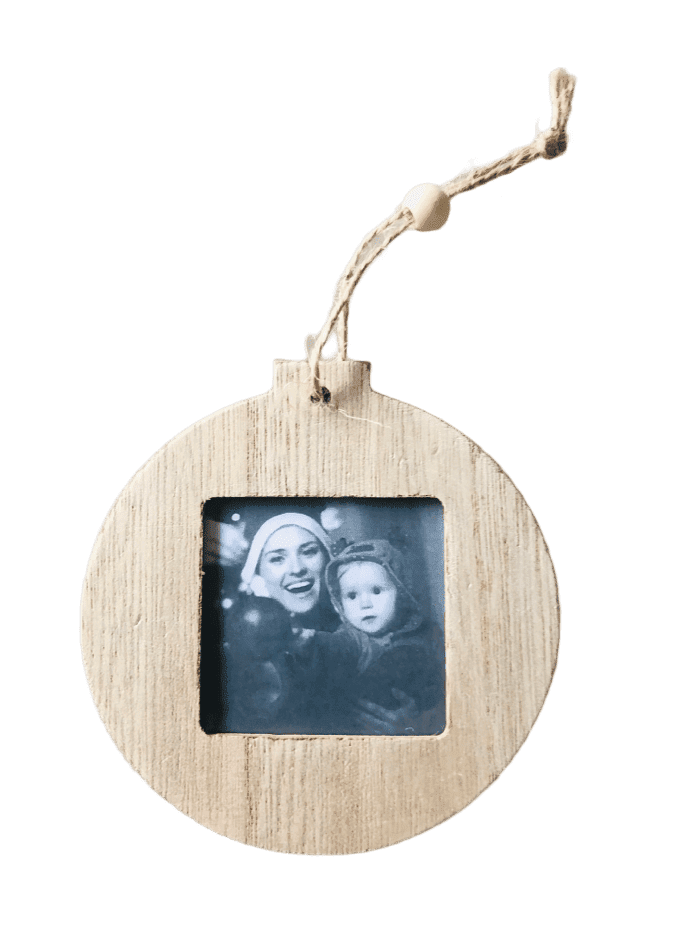 Craft-it.  Wooden Photo Frame ready to hang,