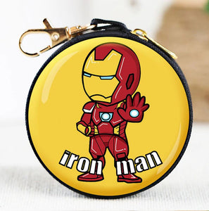 Mini Bag Ironman/The Hulk - Coin Purse/Wallet/Earphones
