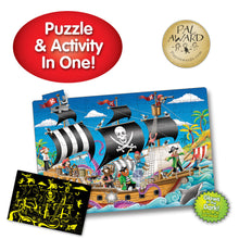Load image into Gallery viewer, Glow in Dark Jigsaw Puzzle - Pirate Ship