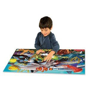 Glow in Dark Jigsaw Puzzle - Sealife