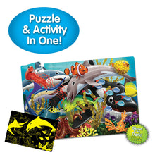 Load image into Gallery viewer, Glow in Dark Jigsaw Puzzle - Sealife