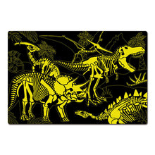 Load image into Gallery viewer, Glow in Dark Jigsaw Puzzle - Dark Dino