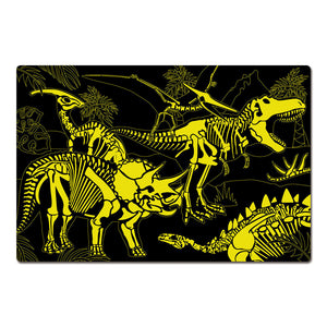 Glow in Dark Jigsaw Puzzle - Dark Dino
