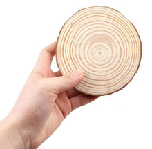 Load image into Gallery viewer, Craft-it. A Natural Thick Pine Wooden Round.