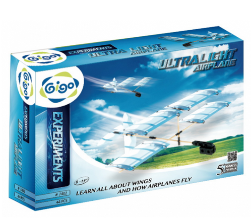 Ultra Light Airplane 44PCS - GIGO  - STEM