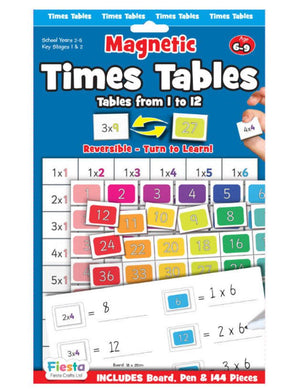 Times Tables 1 to 12 -Fiesta Crafts