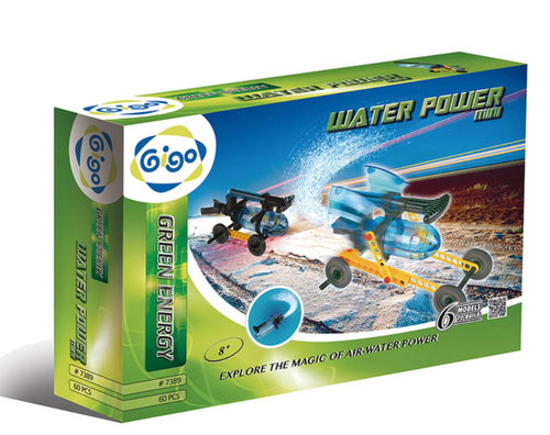 Water Power 60PCS - GIGO  - STEM