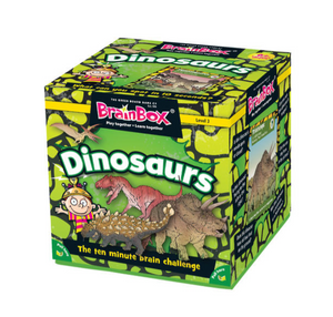 BrainBox - Dinosaurs (55 Cards)