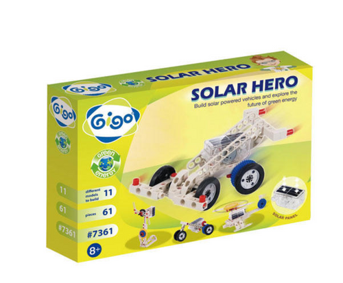 Solar Hero 61pcs - GIGO  - STEM