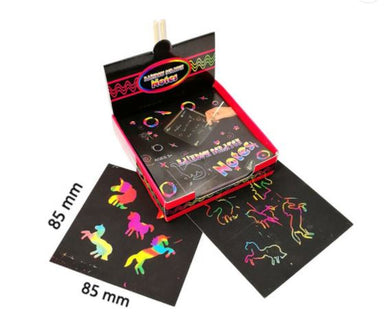 Scratch Art Box Of Rainbow Color Magic DIY Mini Notes