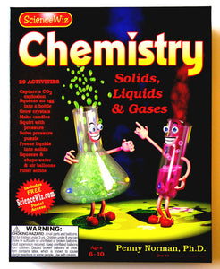 Chemistry, 40 page book & materials (STEM Learning)