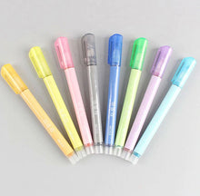 Load image into Gallery viewer, Double Line Outline Fluorescent Marker Pens -  8 colours set