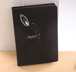 Black Paper Notebook - 96 sheets