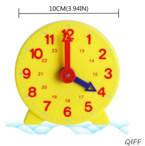Montessori Student Learning Clock