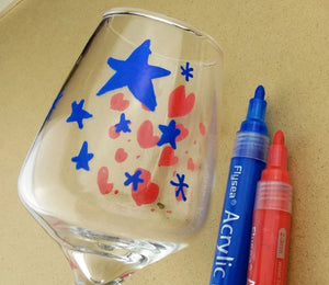 Acrylic Paint Pens Combo-  2 x Flysea 12 Sets - Rock Painting Pens, paper, fabric, mugs, etc....